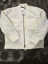 Levi's MADE & CRAFTED Tanker Jacket Japanese White Mens L $348 559630000 BNWT