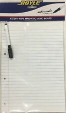 A4 Magnetic Lined Dry Wipe Whiteboard White Board (Free Dry Wipe Pen) Shopping