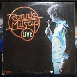 RONNIE MILSAP Live Album Released 1976 Vinyl Collection USA
