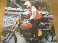 1970s Vintage BOMBARDIER CAN AM  Motorcycle Brochure SKI DOO