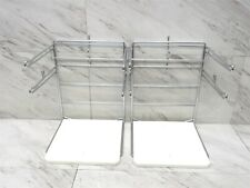 Lot Of 2 Hilex Steel Amp Plastic Grocery Store Shopping Bag Holder 3ac00525100