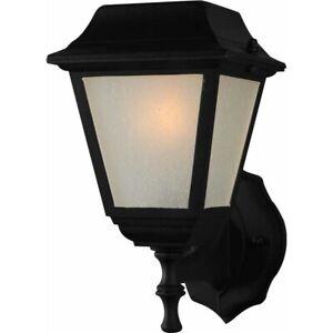 Volume Lighting 5-Light Black Outdoor Wall Sconce, Black - V6472-5