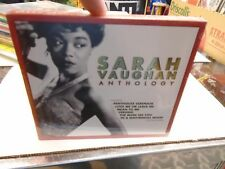 Sarah Vaughan Anthology CD 2005 Stardust Records NEW Sealed