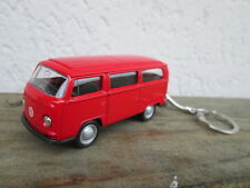 porte clé volkswagen bus combi T2,neuf, rouge, en métal