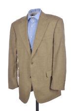 BROOKS BROTHERS Beige Plaid 100% Wool Mens Blazer Sport Coat Jacket - 41 R