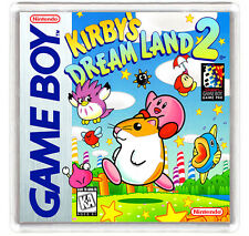 KIRBY'S DREAM LAND 2 NINTENDO GAME BOY FRIDGE MAGNET IMAN NEVERA