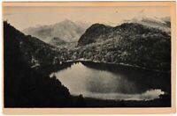 Ansichtskarte Füssen am Lech - Blick auf den Allatsee/Alatsee - schwarz/weiß