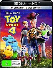 Toy Story 4  (4K UHD + Blu-Ray)