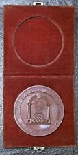GRAND CHAPTER RAM STATE OF NEW YORK 1798-1898 Masonic Medal +Original Case PROOF