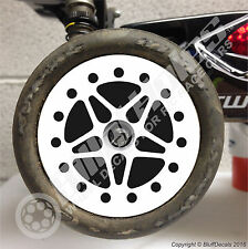 BilletHoles R/C Buggy 2.2 Wheel Decals RC Car Wheel Skinz 1/10 Graphic Stickers