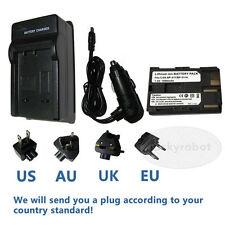 Battery BP-511A+charger For Canon EOS 30D 40D 50D 300D 5D PowerShot G6 G5 G3