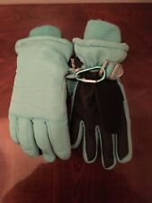 Champion Thinsulate Kids Gloves Teal Sz 4/7 Waterproof