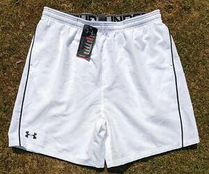 BNWT Mens Under Armour UA Heat Gear Gym Training Running Exercise Shorts XL