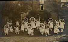 Dover photo. Girls in Fancy Dress by E.V.Bowles, Dover. ?School/Children's Home.