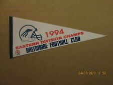 CFL Baltimore Football Club Vintage 1994 Eastern Division Champs Logo Pennant
