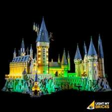 LIGHT MY BRICKS - LED Light kit for LEGO Hogwarts Castle 71043 USB Powered