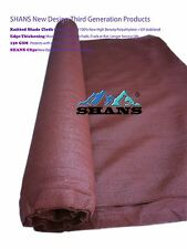 SHANS New Design Sun Screen Shade Cloth Maroon 90% UV Block 12'x 100'+Clips Free