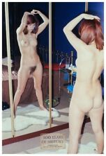 Erotik Foto 10er Format Akt FKK Naked Nude ca. 70er Jahre Girl Girls 10x15 cm