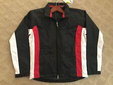 Replex -LT GOLF Callaway Women Tech Travel Jacket Black lined CW25178 NEW Zipper
