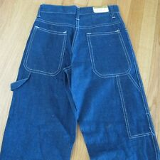 VINTAGE ORIGINAL DEADSTOCK CARPENTER DENIM PANTS CALIFORNIA BRAND SIZE 25 M