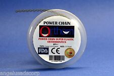 Dental Orthodontic Power Chain Elastic Long Silver Gray Spool Cadena ORTHOM