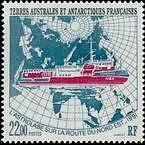 "TERRES AUSTRALES N°181 ""L'ASTROLABE 22 F."" NEUF xx TTB"