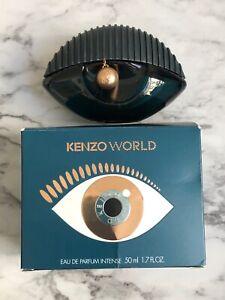 Kenzo World Eau De Parfum Intense Spray 50ml/1.7oz Womens Perfume New in Box
