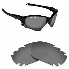 Hawkry Polarized Replacement Lenses for-Oakley Jawbone Vented Sport Black