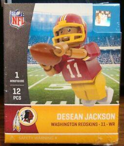 DESEAN JACKSON #11 WASHINGTON REDSKINS MINIFIGURE 👀