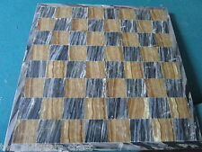"Marble chess board, 13 1/4"", surface scratches commensurate with age[*4]"