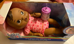 Baby Alive LUV 'N SNUGGLE 18 months African American Baby Doll