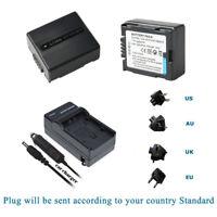 Battery + Charger for Hitachi DZ-MV580E DZ-MV730 DZ-MV730A DZ-MV730E DZ-MV750