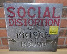 SOCIAL DISTORTION - Prison Bound, Limited 180 Gr CONCRETE COLORED VINYL + Litho