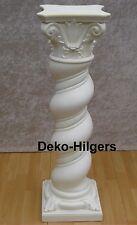 6 X Säule Blumensäule Tisch Design Barock Säulen Antik Stuckgips Deko 1017 Crem
