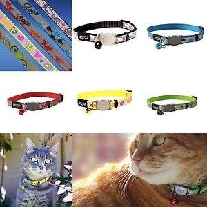 Cat Collar With Bell ROGZ REFLECTOCAT Reflective Quick Release Breakaway Collars