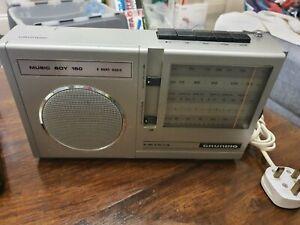 GRUNDIG MUSIC BOY 150 PORTABLE FM/MW/LW/SW TRANSISTOR RADIO WORKING