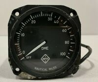 NARCO UDM-3A Distance Measuring Indicator DME NAUTICAL MILES METER