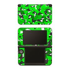 Nintendo NEW 3DS XL Aufkleber Skin Klebefolie Schutzfolie Sticker Signal Green