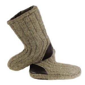 Winter woolen cloaks padded boots from overcoat size 39-47 Burki Valenki adult
