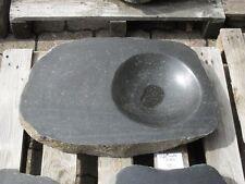 Becken aus poliertem Granit - Granittrog Vogeltränke Bachlauf Waschbecken - B124