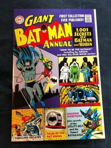 GIANT BATMAN ANNUAL #1 Very Fine REPRINT 1001 SECRETS OF BATMAN AND ROBIN 1999