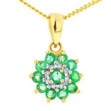 Diamond Emerald Costume Necklaces & Pendants