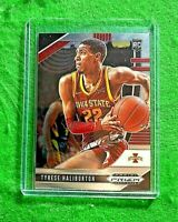 TYRESE HALIBURTON PRIZM SILVER CHROME ROOKIE CARD JERSEY #22 IOWA STATE RC KINGS