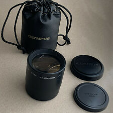 Olympus IS/L Lens 52mm C-180 H.Q. Converter 1.7x inc 2 caps & case Top condition