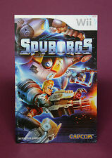 INSTRUCTION BOOKLET/MANUAL ONLY FOR SPYBORGS Wii (NO GAME) ⭐OZ SELLER⭐ FAST POST