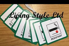 Fire safety Hanging Green 15 Labels,