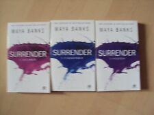 SURRENDER  (3 tomes)  - MAYA BANKS