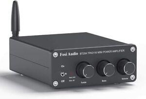 Fosi Audio BT20A HiFi Bluetooth Amplifier 2 X 100w Bluetooth 5.0 Bass & Treble