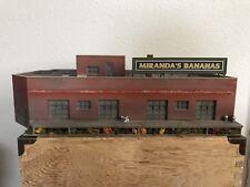 Ho Scale Weathered Miranda's Bananas Warehouse Building