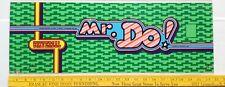 ARCADE GAME UPPER MARQUEE ORIGINAL MR DO! by Universal